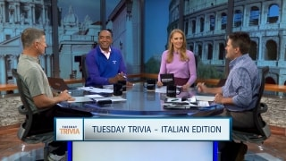 Tuesday Trivia: Italian edition