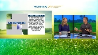 Morning Drive: 'Who said it' at the BMW Championship?