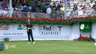 Highlights: Top shots from Round 2 of Tour Championship