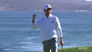 Highlights: Taylor withstands winds, outplays Phil to capture Pro-Am