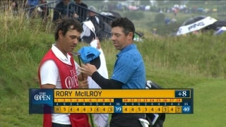 Watch: McIlroy's full first round at The Open