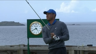 Watch: Tiger's full first round at The Open
