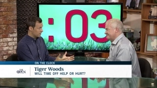 On the Clock: Will time off help or hurt Tiger?