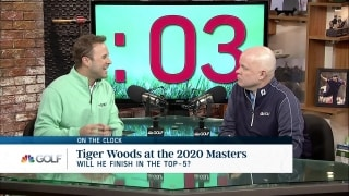 On the Clock: How will Tiger fare at 2020 Masters?