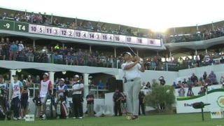 Highlights: Red-hot Rahm cools late in Rd. 2 of WMPO