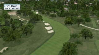 The Smarter Way to play the 3rd hole at Colonial