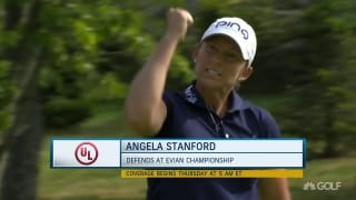Can Stanford defend her title at the Evian Champ?