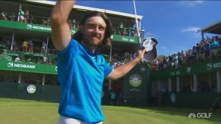 Fleetwood tops Kinhult in playoff to win in South Africa