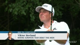 Hovland set to make European Tour debut at BMW PGA Championship