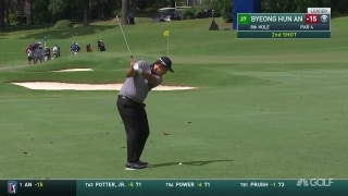 Highlights: An (66) still leads Wyndham after third bogey-free round