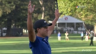 Highlights: Champ birdies final hole to win Safeway Open