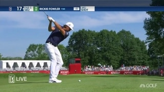Lashley leads, Fowler fires and hits the target in Detroit