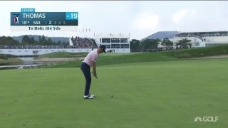 Highlights: Thomas (69) outlasts Lee for CJ Cup win in Korea