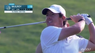 Highlights: McIlroy edges out Schauffele in WGC-HSBC playoff