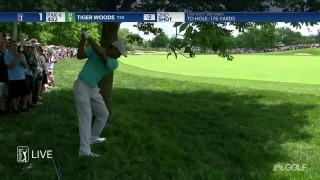 Tiger not out of the woods yet at Muirfield Village