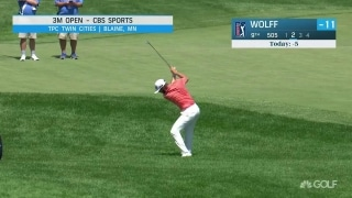 Wolff on the prowl with share of 3M Open lead