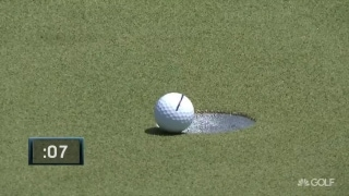Matsuyama's ball hangs ... hangs ... hangs ... and falls