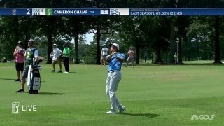 Champ begins defense at a soggy Sanderson Farms Championship