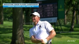 Goosen just off lead at Senior Players Championship