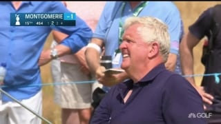 Monty one back in bid to win The Senior Open