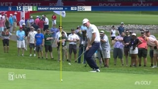 Highlights: Everybody chasing Lashley at Rocket Mortgage Classic