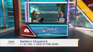 Fitzpatrick makes huge leap on Genesis leaderboard