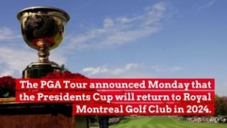 Royal Montreal to host Presidents Cup in 2024