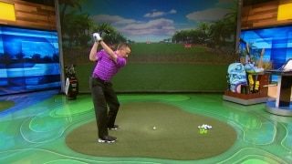Tuck The Trail Elbow In The Downswing For Golf Distance