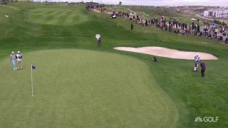 Marc Warren Holes Out For Eagle Golf Channel
