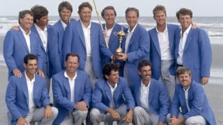 1979 Ryder Cup Continental Europe Joins Great Britain And Ireland