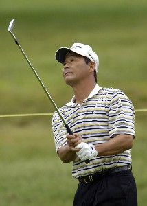 Hajime Meshiai during the second round of the Commerce Bank Championship on the Red Course at Eisenhower Park in East Meadow, New York, on June 24, 2006.Photo by Steve Levin/WireImage.com