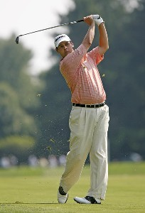 Jeff Quinney during the second round of the AT&T National at Congressional Country Club on July 6, 2007 in Bethesda, Maryland. PGA TOUR - 2007 AT&T National - Second RoundPhoto by Hunter Martin/WireImage.com