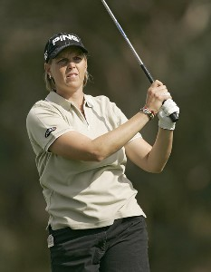 Wendy Ward during the first round of the Kraft Nabisco Championship held at Mission Hills CC in Rancho Mirage, CA on Thursday, March 30, 2006.Photo by Sam Greenwood/WireImage.com