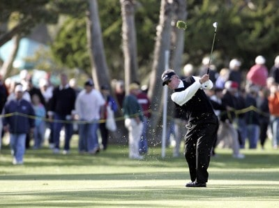 John Harris in action during the final round of the Toshiba Classic at Newport Beach Country Club in Newport Beach, California on March 19, 2006.Photo by Gregory Shamus/WireImage.com