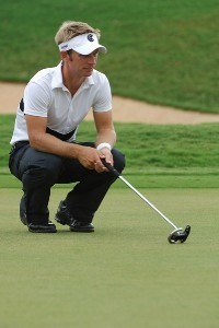 Richard Johnson in action during the third round of the Valero Texas Open held at The Resort Course at La Cantera on Saturday, September 23, 2006 in San Antonio, Texas PGA TOUR - 2006 Valero Texas Open - Third RoundPhoto by Marc Feldman/WireImage.com