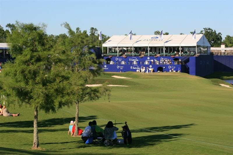 NEW ORLEANS, LA - APRIL 29: A scenic view of the 18th green during the second round of the Zurich Classic at the TPC Louisiana on April 29, 2011 in New Orleans, Louisiana. (Photo by Hunter Martin/Getty Images)
