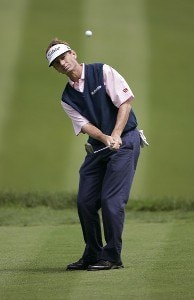 Brad Faxon during the third round of the Barclays Classic held at Westchester Country Club in Rye, New York on June 10, 2006.Photo by Chris Condon/PGA TOUR/WireImage.com