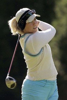 Beth Bader in action during the third round of the 2005 Michelob Ultra Open at Kingsmill on May 8, 2005.Photo by Pete Fontaine/WireImage.com