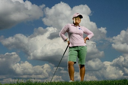PORTLAND, OR - AUGUST 22:  Jeong Jang poses for a portrait during the LPGA Safeway Classic at the Columbia Edgewater Country Club on August 22, 2007 in Portland, Oregon.  (Photo by Jonathan Ferrey/Getty Images)