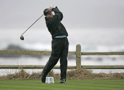 Joe Ogilvie during the second round of the AT&T Pebble Beach Pro-Am at Pebble Beach Golf Links, in Pebble Beach, California on February 9, 2007. PGA TOUR - 2007 AT&T Pebble Beach National Pro-Am - Second RoundPhoto by Hunter Martin/WireImage.com