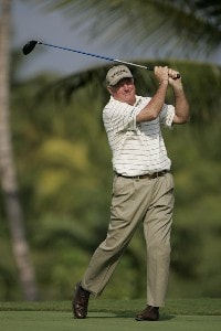 Allen Doyle in action during the first round of the 2006 Mastercard Championship  at Hualalai resort,  Kona, Hawaii. January 20,2006Photo by: Chris Condon/PGA TOUR