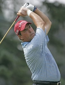 Olin Browne during the third round of the 2006 WGC-Bridgestone Invitational held on the South Course at Firestone Country Club in Akron, Ohio, on August 26, 2006.
