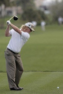 Charley Hoffman during the first round of the 2007 Honda Classic on the PGA National Champion Course in West Palm Beach, Florida on March 1, 2007. PGA TOUR - The 2007 Honda Classic - First RoundPhoto by Pete Fontaine/WireImage.com