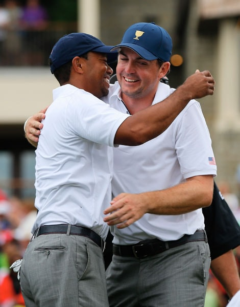 Tiger Woods, Keegan Bradley