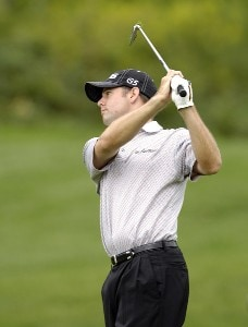 Doug LaBelle II during the second round of the Legend Financial Group Classic at the Stone Water Golf Club in Cleveland, Ohio on Friday, September 1, 2006.Photo by Steve Levin/WireImage.com