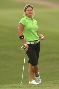 Nicole Perrot in action during the second round of the inaugural 2006 Fields Open in Hawaii at Ko Olina Golf Club in Kapolei, Hawaii February 24, 2006.Photo by Steve Grayson/WireImage.com