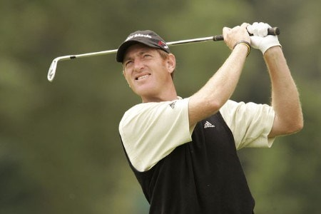 Greg Owen during the first round of the 2005 Smurfit European Open at the K-Club Palmer Course in Straffan, County Kildare, Ireland on June 30, 2005.Photo by Pete Fontaine/WireImage.com