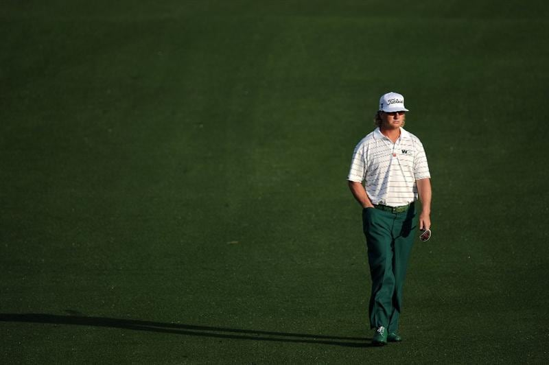 AUGUSTA, GA - APRIL 08:  Charley Hoffman walks up the second hole fairway during the second round of the 2011 Masters Tournament at Augusta National Golf Club on April 8, 2011 in Augusta, Georgia.  (Photo by Harry How/Getty Images)