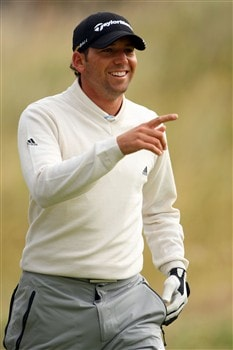 SOUTHPORT, UNITED KINGDOM - JULY 16:  Sergio Garcia of Spain walks on the 6th fairway during the third practice round of the 137th Open Championship on July 16, 2008 at Royal Birkdale Golf Club, Southport, England.  (Photo by Andrew Redington/Getty Images)