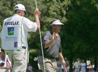 Joey Sindelar during the first round the 2006 Wachovia Championship at the Quail Hollow Club in Charlotte, North Carolina on May 4, 2006.Photo by Kevin C.  Cox/WireImage.com